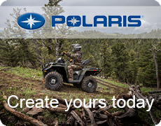 Create your polaris quad ATV today on Polaris ATV Surrey